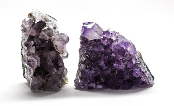 Amethyst clusters from $18, The Hoodwitch