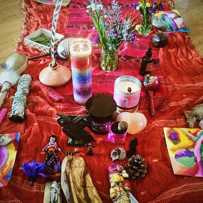 blessing way altar my mystical week ruby warrington The Numinous