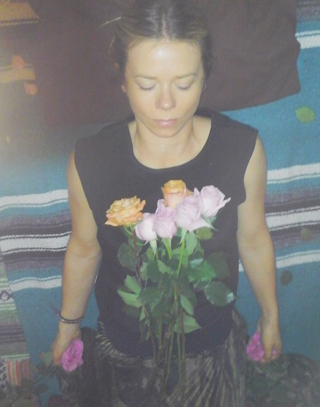 rose healing session with Ruby Warrington on the numinous
