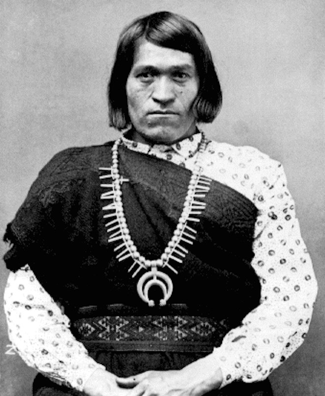 We'wha (1849-1896), of the Zuni nation. We'wha was biologically a male and engendered with a female spirit.