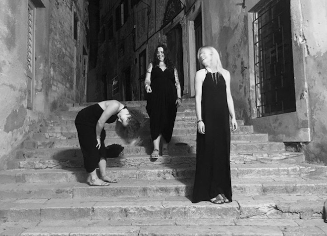 Witchy vibes in the streets of Sibenik with Alexandra Roxo and Jayne Goldheart ruby warrington my mystical week the numinous