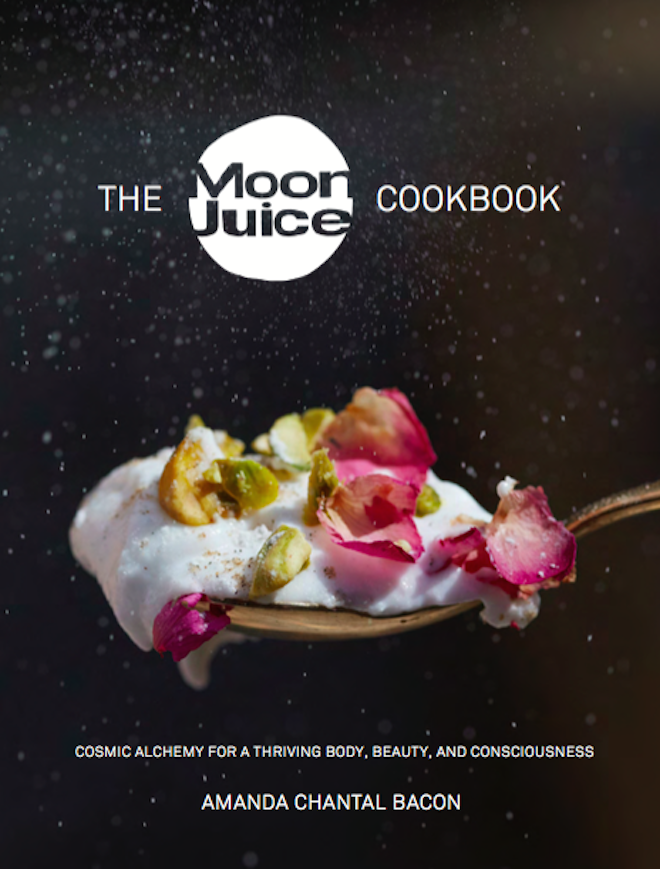 cacao goddess moon juice cookbook on The Numinous