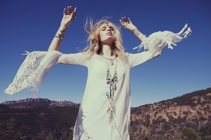 white caftan virgo season by Mojave Rising on The Numinous