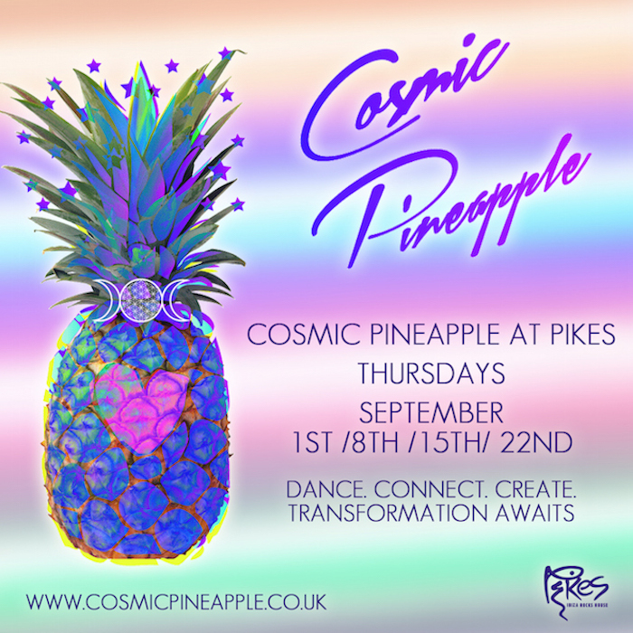 Ibiza's new spiritual party scene cosmic pineapple on The Numinous