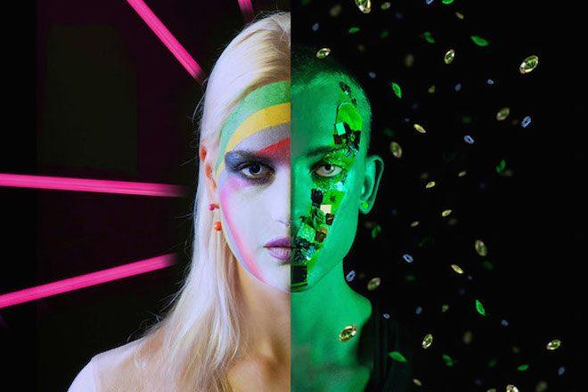 cosmic time travel split face past lives alien the numinous