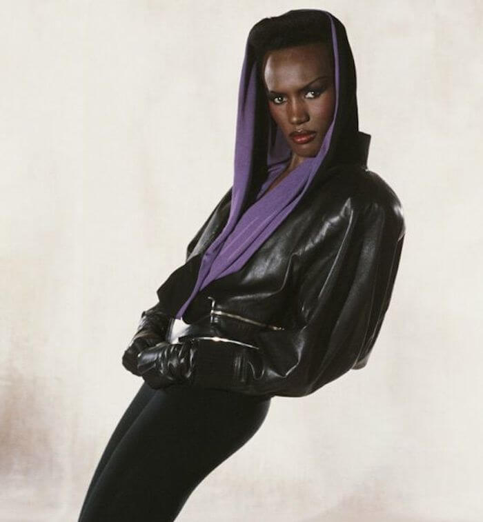 Grace Jones in A View to a Kill