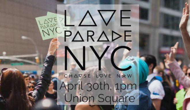 LOVE PARADE NYC THE NUMINOUS