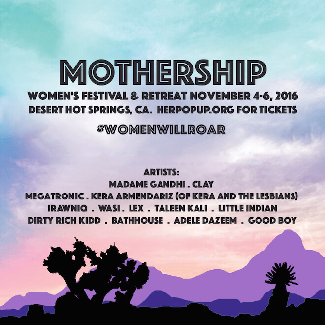 Mothership festival joshua tree on The Numinous