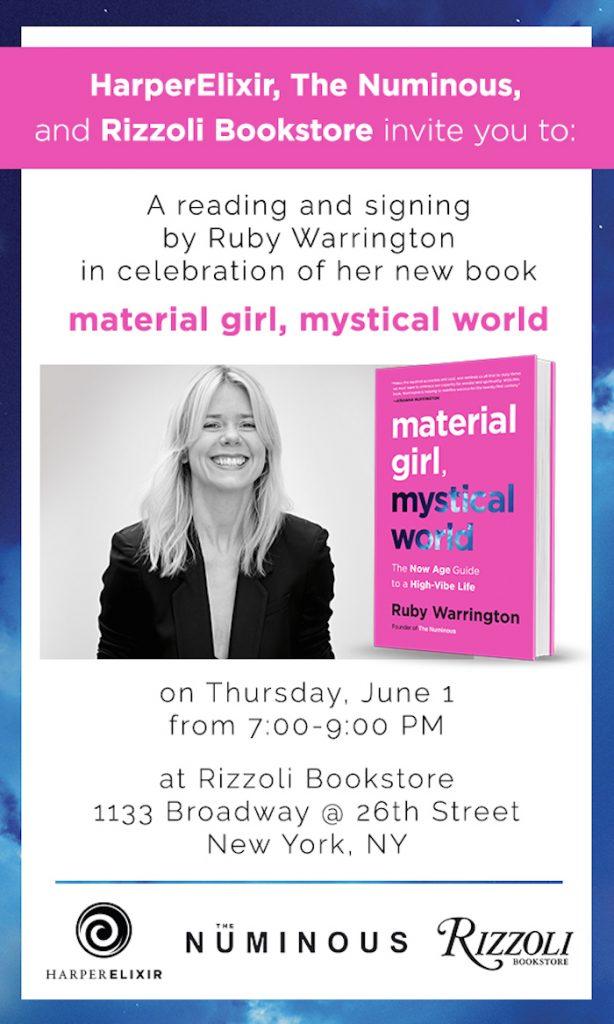 Ruby Warrington Rizzoli Material Girl Mystical World