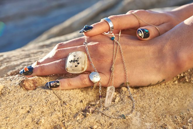 Melinda lee Holm Tarot jewelry The Numinous