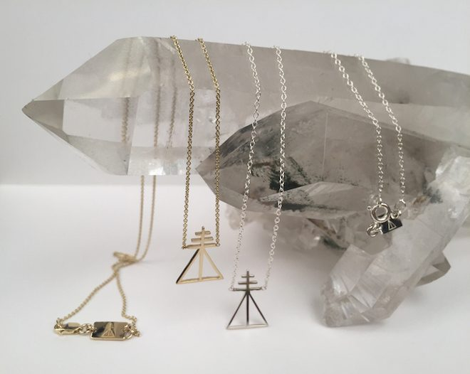 Sigal necklace, from $175, Melinda Lee Holm The Numinous