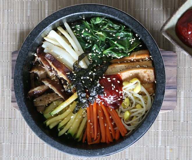 dolsot bibimbap vegan Melinda Lee Holm The Numinous