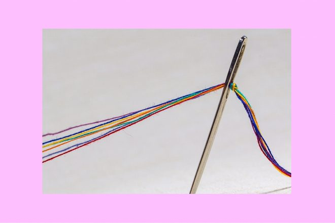 strong eye astrology needle pulling thread