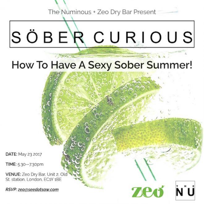 sober curious The Numinous Zeo dry bar