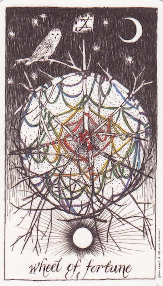 Wild Unknown The Wheel of Fortune Melinda Lee Holm The Numinous