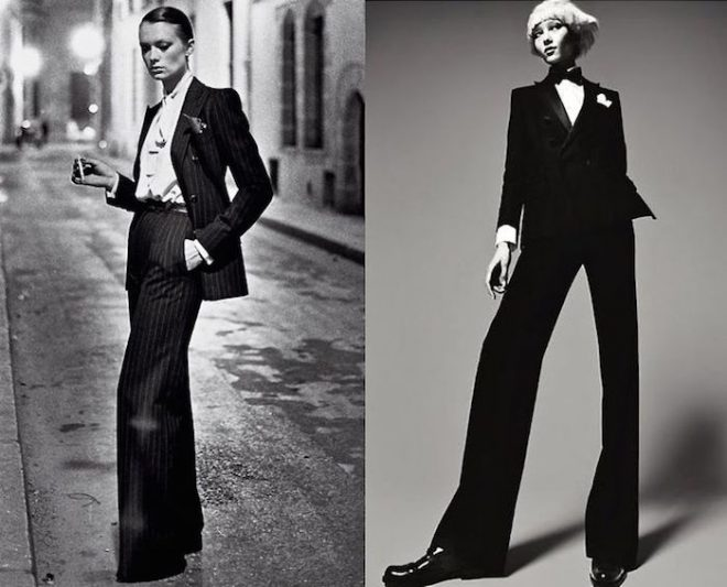 Capricorn season style Mojave Rising The Numinous women's tuxedo suit