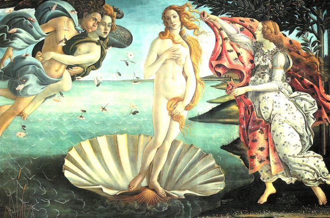 boticelli Goddess Venus Elyssa Jakim Temple of Venus The Numinous