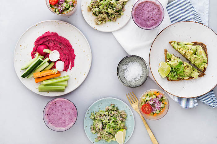 detox kitchen london, plant based london, raw food london