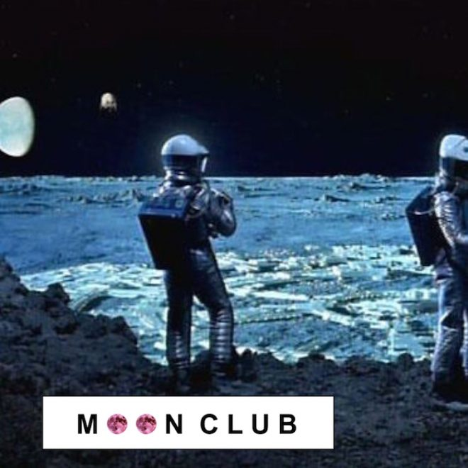 Aquarius New Moon moon club The Numinous astronauts on the moon