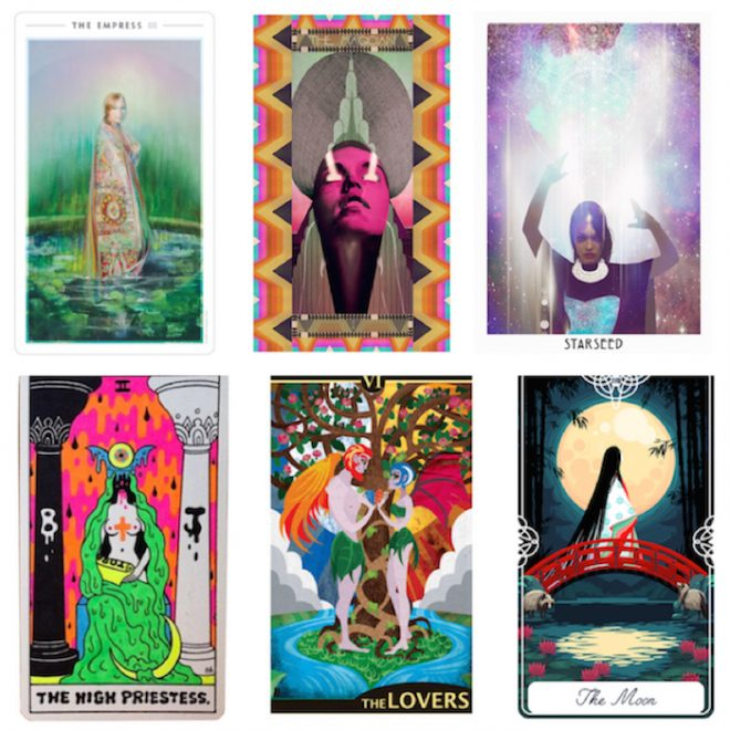 tarot type The Numinous best of the Numinous 2017