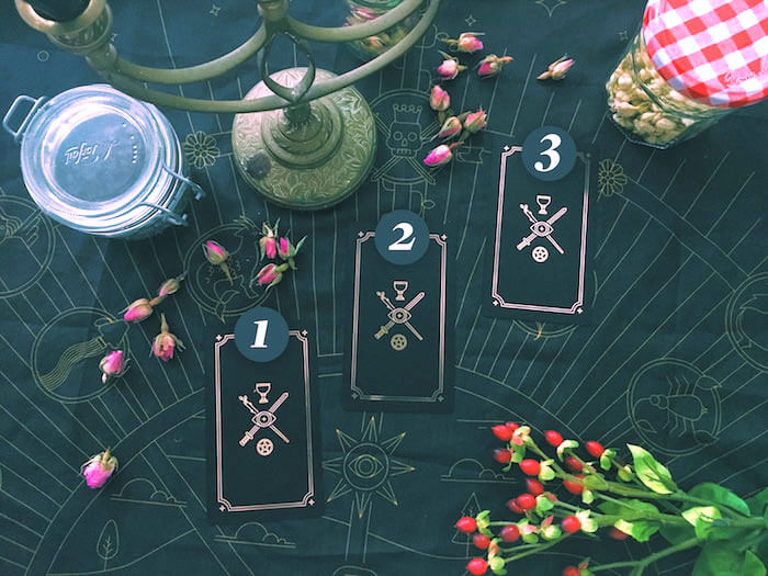 Labyrinthos Academy Online Tarot School Luminous Spirit Tarot Tina Gong The Numinous Moon Tarot Golden Thread Tarot New Moon Tarot Spread
