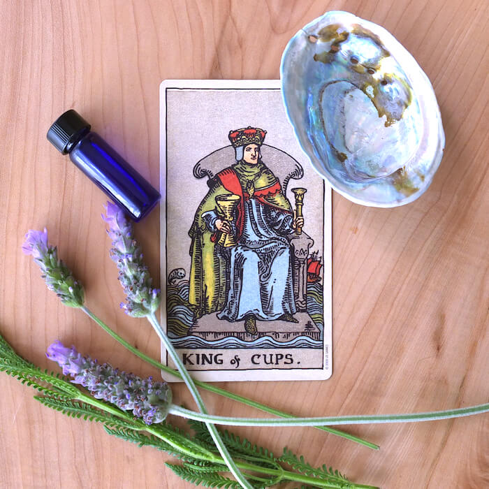 king of cups rider waite melinda lee holm key tarot cards for april ruby warrington the numinous