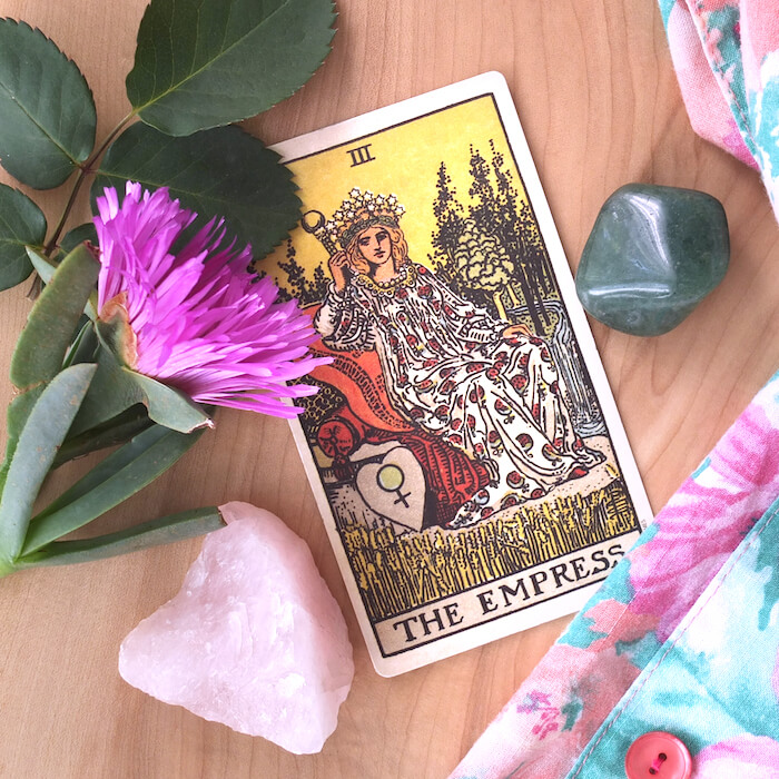 the empress rider waite key tarot cards for april melinda lee holm ruby warrington the numinous