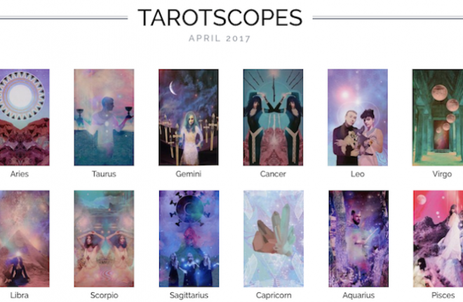 Numinous tarotscopes april 2017 Lindsay Mack