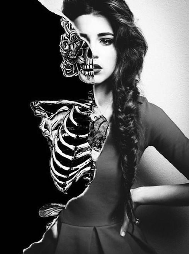 half woman half skeleton pluto retrograde 2017 The Numinous