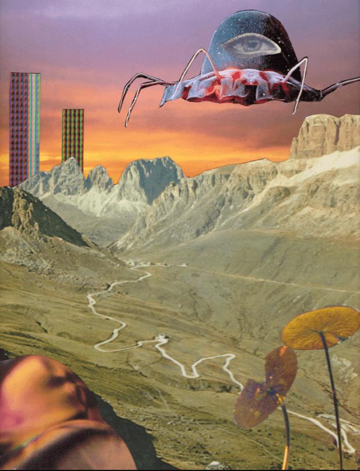 seana gavin collage jennifer racioppi ruby warrington the numinous aquarius waning quarter moon