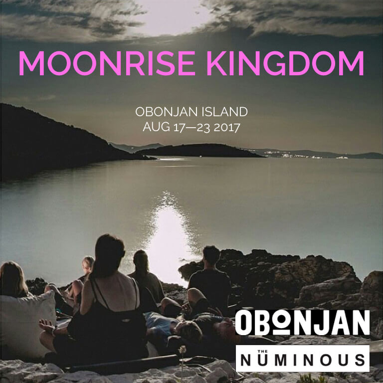 MOONRISE kingdom The Numinous Obonjan Island August 2017