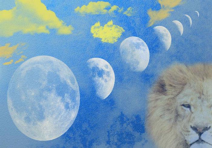 August 2017 eclipse season The Numinous Lion moon