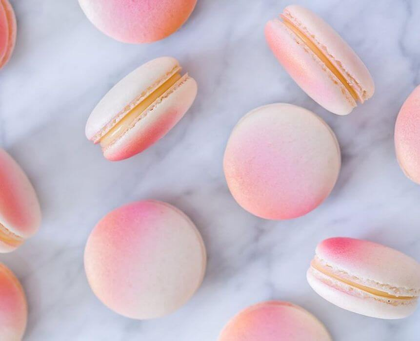 Libra season 2017 Bess Matassa The Numinous pink macarons