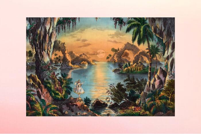 Fairy grotto forest sunset Numinous weekly horoscopes The Numinous