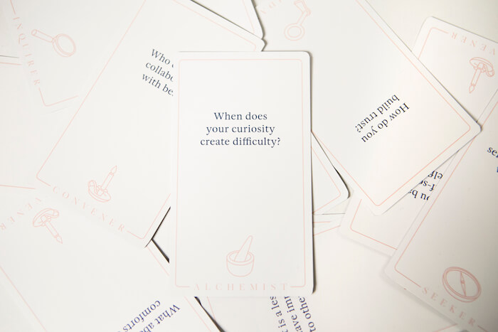 The Art of Conversation Questions and Empathy cards Michael Ventura The Numinous