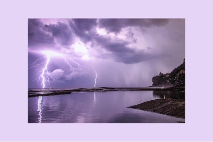 Numinous horoscopes Sandy Sitron Lightening bolt