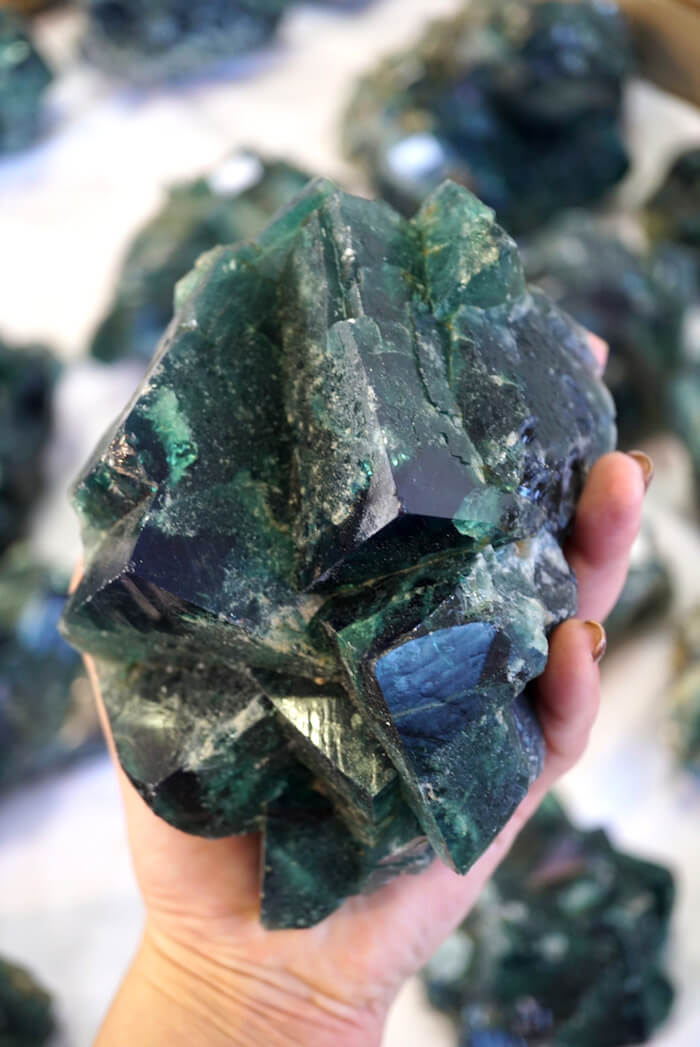 energy muse ruby warrington the numinous material girl mystical world tucson gem show fluorite