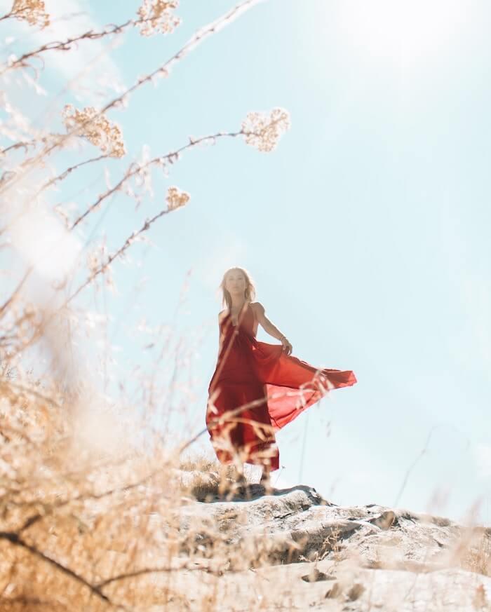 Lady in Red Aries Season 2018 The Numinous Bess Matassa