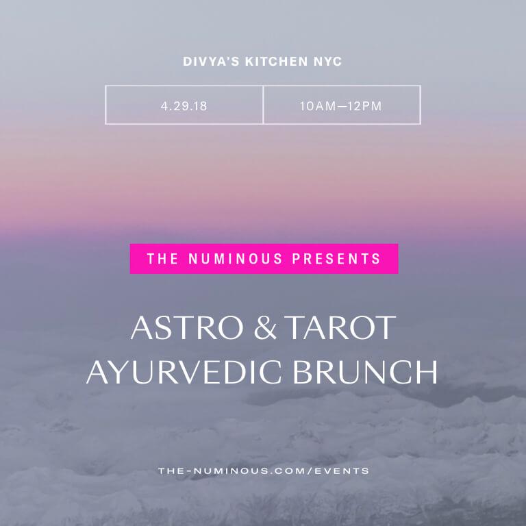 astro and tarot brunch The Numinous Divya's Kitchen