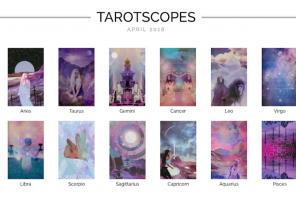 Numinous Tarotscopes April 2018