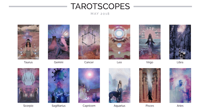 numinous tarotscopes may 2018 melinda lee holm the numinous ruby warrington material girl mystical world the starchild tarot