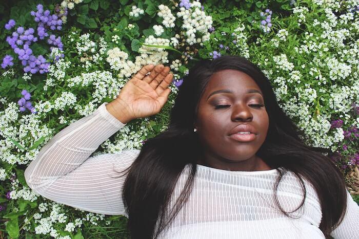 Taurus Season 2018 The Numinous Bess Matassa black woman flowers