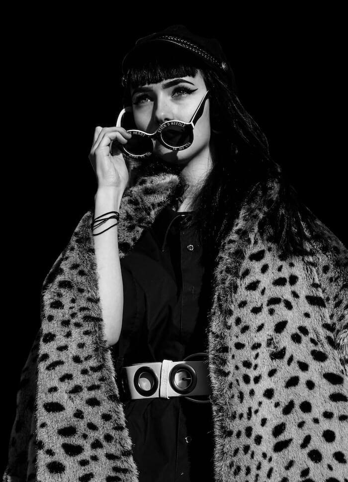 Taurus Season 2018 The Numinous Bess Matassa leopard print coat
